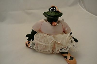 Bailey Rina Frog Russ Berrie 13019 Kathleen Kelly Critter Factory Frog NWT