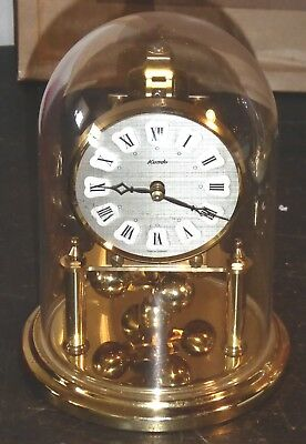 Vintage 400 day anniversary clock by Kundo of Germany needs attention