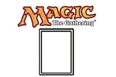 MTG - Magic The Gathering Single Cards - White Border Cards from Various sets