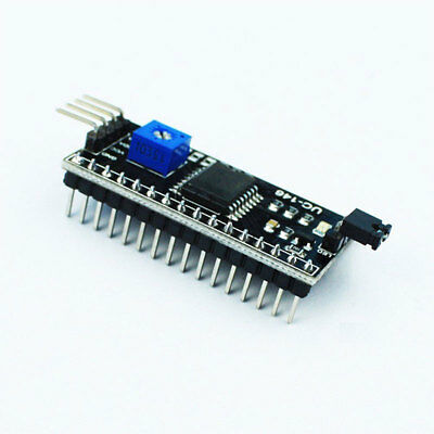 New IIC I2C TWI SPI Serial Interface 1602 LCD Board Module For Arduino
