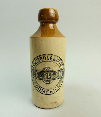 Victorian Ginger Beer Bottle Armstrong & Dickie Dumfries C.1900