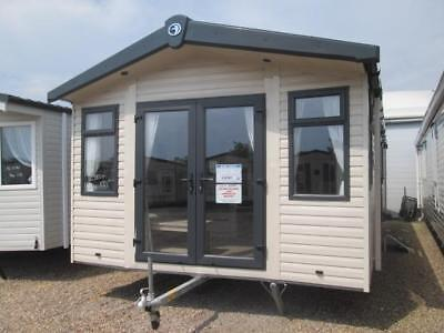Static Caravan Mobile Home 32x12x2bed Swift Burgundy SC5854