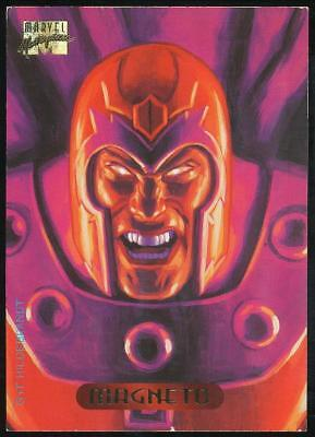 1994 Marvel Masterpieces Trading Card #70 Magneto