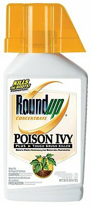 Roundup Poison Ivy Plus Tough Brush Killer Concentrate, 32-Ounce, Free Shipping