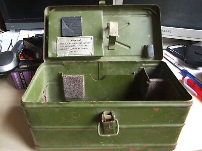 Russian Military Box Red Army USSR reenacting