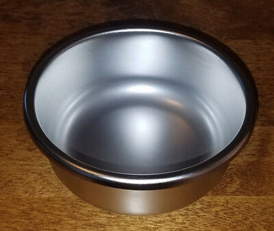 "Sponge or Mixing Bowl 14oz Ounce Capacity 316L Stainless Steel 4.8""OD 2""H"