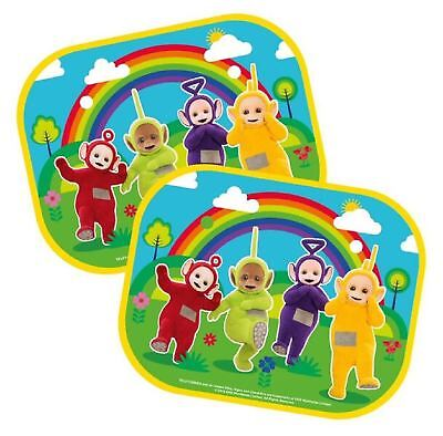 Childrens Teletubbies Car Window Sun Shades: Set of Two