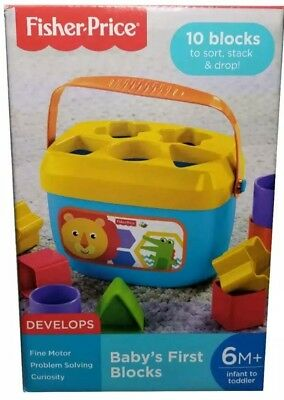 Fisher-Price Baby's First Blocks - 6+ Months - Toys - B49