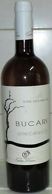 Vino Bianco Grecanico  Bucari 2017 Gp Terre Siciliane 750 Ml Vol 12,5 %