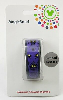 NEW Disney Parks Haunted Mansion Wallpaper MagicBand Purple Magic Band