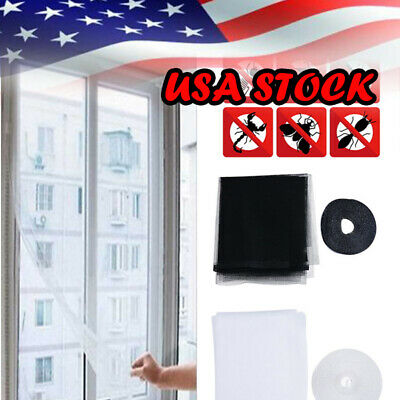 Anti-Insect Fly Bug Mosquito Door Window Curtain Net Mesh Screen Protector US LS
