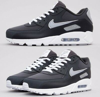 Nike Air Max 90 Anthracite Wolf Grey White Sneakers Men S Lifestyle