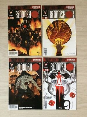 Bloodshot #10 - 13  Harbinger Wars Tie-Ins   US VALIANT Comics