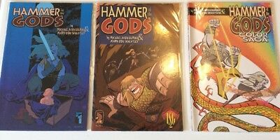 Hammer of the Gods #1 + 2 & Color Saga Special  US Comics  Michael Avon Oeming
