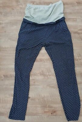 MAMA LICIOUS Umstandshose leichte Sommer Hose Gr. M Maternity MILLY WOVEN Pants