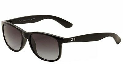 d3a83417fd Ray Ban Andy RB4202 RB 4202 RayBan 601 8G Black Silver Fashion Sunglasses