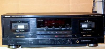 Immaculate High End Aiwa AD-WX888 Dual Cassette Deck - Parts or Repair See Pic's