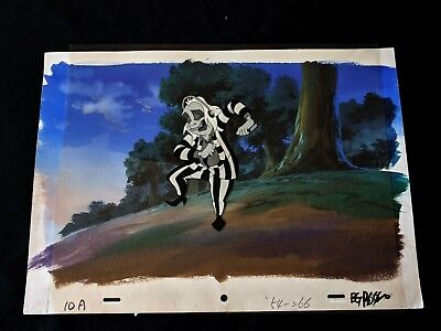 Beetlejuice (1989 TV Series)  Animation Production Cartoon Cel with Painted Back