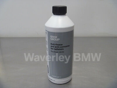Genuine BMW Blue Coolant 1.5 Litre Concentrate Part 83192211913