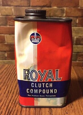 Vntg CAN ROYAL CLUTCH COMPOUND For HUDSON ESSEX TERRAPLANE RICHMAN CHEM CO CHICA