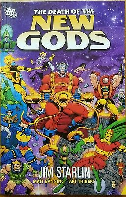 The Death of the New Gods DC HC Graphic Novel Jim Starlin Superman