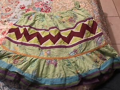 Seminole Indian Patchwork Skirt  7/8 year old youth