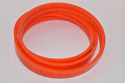 NEW Twin V-Belt Orange Smooth PU80A, Polyurethane, 1-1/4'' D