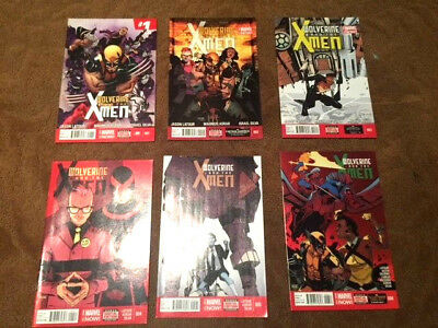 WOLVERINE AND THE X-MEN 1-12  Complete set NM Bagged/Boarded and Boxed Shipped!