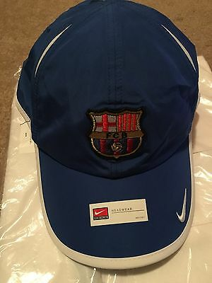 bedfb2b2660 NEW NIKE HEADWEAR Hat Barcelona FC La Liga 214047-493 Adult 1-size ...
