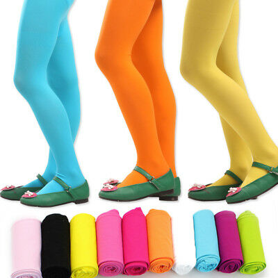 Candy Color Girl Kid Baby Long Tights Stocking Pantyhose Socks Ballet Dance Pant