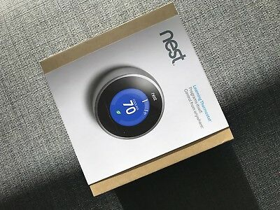 Nest T200577 2nd Generation Learning Thermostat Wifi your ducted heater NEW $669
