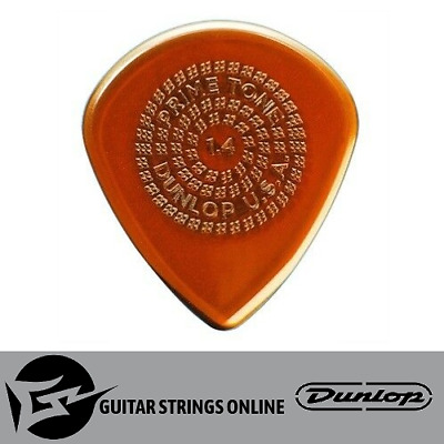 1 x Jim Dunlop PrimeTone Jazz III Sculpted Guitar Pick/Plectrum with Grip 1.4mm
