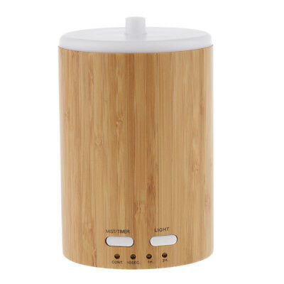 bambù ad ultrasuoni mini led aroma umidificatore purificatore diffusore di