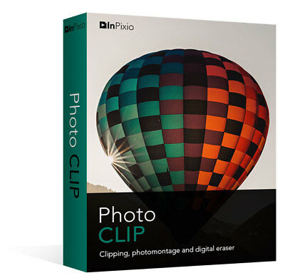InPixio Photo Clip 8 Full Edition | Simply Cut-out & Create ⭐Digital Download⭐