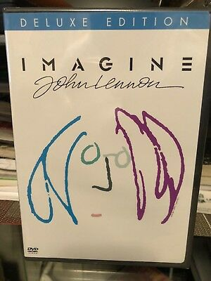 John Lennon - Imagine (DVD) Deluxe Edition! Warner Bros DVD! BRAND NEW!