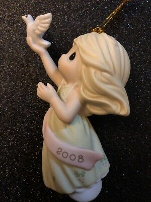 precious moments ornaments Blessing Of Peace To You 2008 Annual Ornament Mint