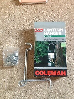 Coleman Lantern Hanging hanger & chain Camping Outdoor Lamp Camp Holder Accessor