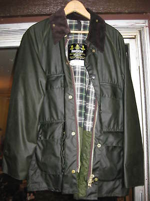 Barbour Classic Bedale Fit Wax Jacket Mens Size 38/97CMOlive MSRP $379 NOSWT