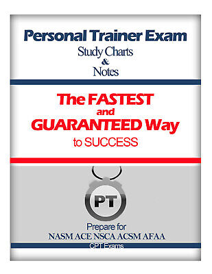 Personal Trainer Exam CERTIFICATION set for NASM CPT ACE NSCA ACSM AFAA