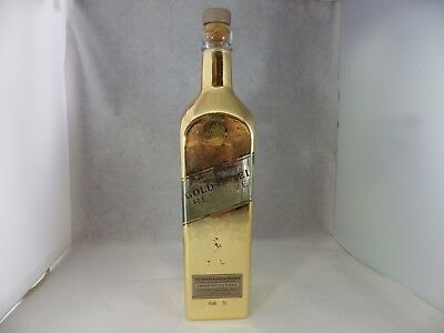 Johnnie Walker Whisky Gold Label Gold Bullion Limited Edition Empty bottle 75cl