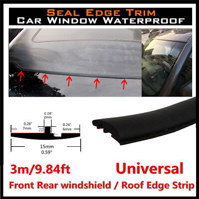 3M Rubber Sealing Strip Trim For Car Triangular Sunroof Windshield Weatherstrip