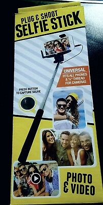 SUPER DEAL Photo Video capable selfie Stick, Gift, NR, FREE SHIPPINH