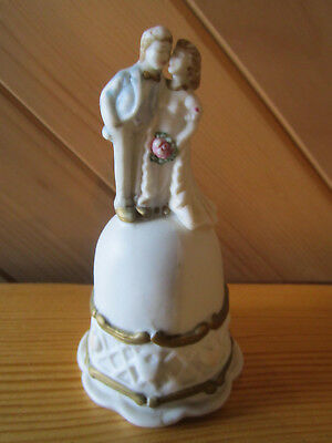 Vintage Ceramic Bell Great For Collectors  Must See  ************
