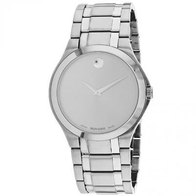 1bd21ccaa05 Movado Men s Swiss Collection 40mm Steel Bracelet   Case Quartz Watch 606782