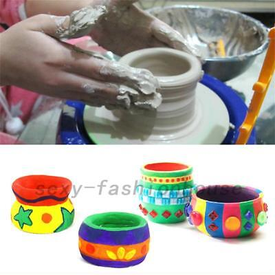 Home Arts Craft Discovery Kids Motorized Ceramic Pottery Wheel Educational Gift
