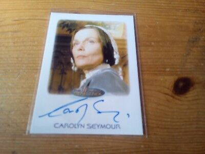 Star Trek Women Of Star Trek 50Th Anniversary Autograph Card Of Carolyn Seymour