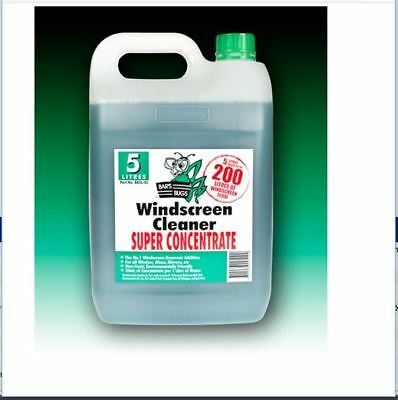 BB5L-SC - Bar's Bugs Windscreen Cleaner Super Concentrate 5Ltr