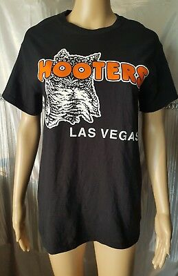 Black Hooters T Shirt Size S 88Cm Chest
