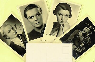 ROSS VERLAG - 1930s Film Star Postcards produced in Germany #8431 to #8683