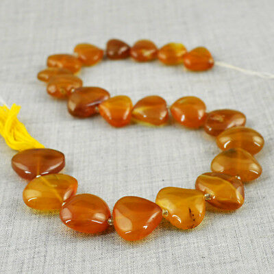 Amazing 395.00 Cts / 13 Inches Earth Mined Untreated Drilled Onyx Beads Strand